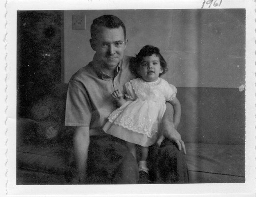 Dad and Brenda 1961